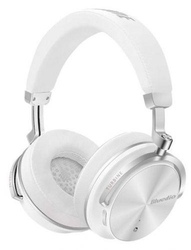 Casti Stereo Bluedio T4S, Bluetooth (Alb)