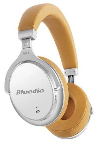 Casti Stereo Bluedio F2, Bluetooth (Bej)