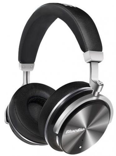 Casti Stereo Bluedio T4, Bluetooth (Negru)