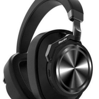 Casti Stereo Bluedio T6, Bluetooth (Negru)