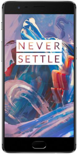 Telefon Mobil OnePlus 3 A3003, Procesor Quad-Core 2.15GHz / 1.6GHz, Optic Amoled Capacitive touchscreen 5.5inch, 6GB RAM, 64GB Flash, 16MP, Wi-Fi, 4G, Dual Sim, Android (Gri)