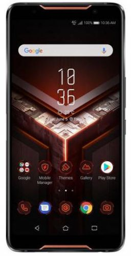 Telefon Mobil ASUS ROG Phone ZS600KL, Procesor Octa-Core 2.96GHz / 1.7GHz, AMOLED Capacitiv Touchscreen 6inch, 8GB RAM, 128GB Flash, Dual 12+8MP, Wi-Fi, 4G, Dual Sim, Android (Negru)