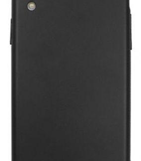 Husa Protectie Spate Just Must Uvo pentru iPhone XR (Negru)