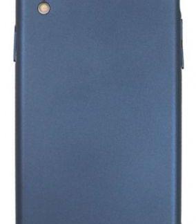 Husa Protectie Spate Just Must Uvo pentru iPhone XR (Albastru)
