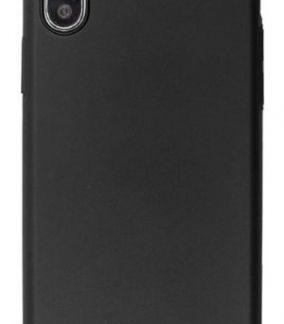 Husa Protectie Spate Just Must Uvo pentru iPhone XS / X (Negru)