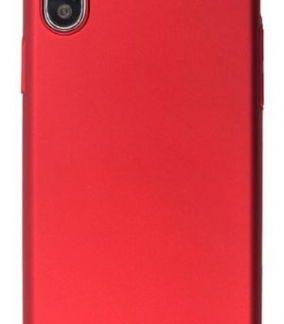 Husa Protectie Spate Just Must Uvo pentru iPhone XS / X (Rosu)