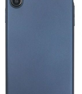 Husa Protectie Spate Just Must Uvo pentru iPhone XS Max (Albastru)