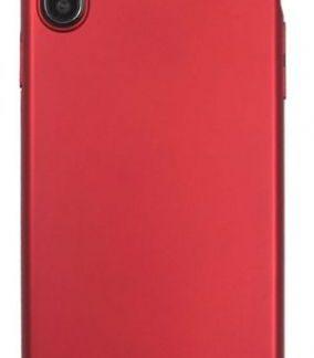 Husa Protectie Spate Just Must Uvo pentru iPhone XS Max (Rosu)