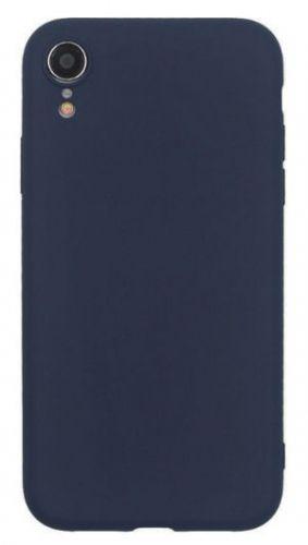 Husa Protectie Spate Just Must Silicon Candy pentru iPhone XR (Albastru)