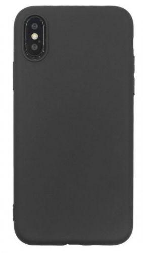 Husa Protectie Spate Just Must Silicon Candy pentru iPhone XS / X (Negru)