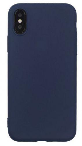 Husa Protectie Spate Just Must Silicon Candy pentru iPhone XS / X (Albastru)