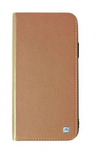 Protectie Book Cover Meleovo Smart Jacket MLVBSJIPHXLB pentru iPhone X (Maro)