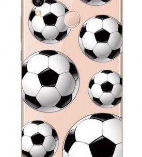 Protectie Spate Lemontti Art Football LMSAP20LM33 pentru Huawei P20 Lite (Multicolor)