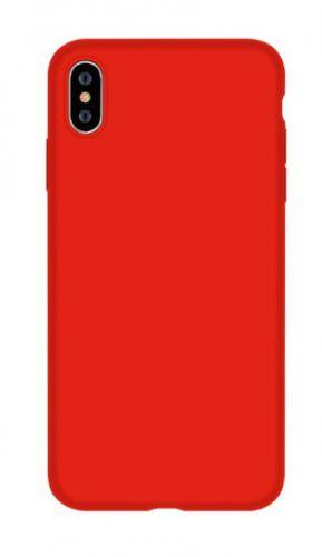 Protectie Spate Devia Nature Series DVNSIP65RD pentru iPhone XS Max (Rosu)