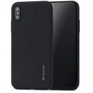 Protectie Spate Meleovo Metallic Slim 360 MLVMSIPHXBK pentru iPhone X (Negru)