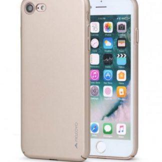 Protectie Spate Meleovo Metallic Slim 360 MLVMSIPH8GD pentru iPhone 8 / 7 (Auriu)