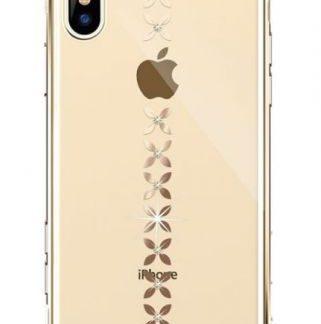 Protectie Spate Devia Lucky Star DVLSIP58GD pentru iPhone X (Auriu)
