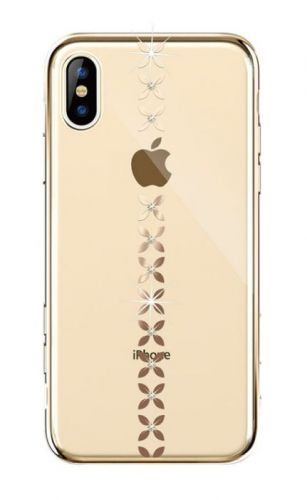 Protectie Spate Devia Lucky Star DVLSIP65GD pentru iPhone XS Max (Auriu)