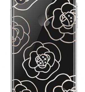 Protectie Spate Devia Camellia DVCCIP61SV pentru iPhone XR (Argintiu)