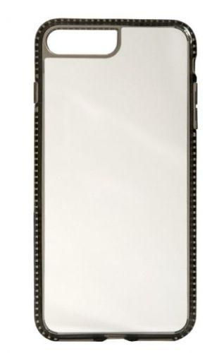 Protectie Spate Devia iShockproof pentru iPhone 8/7 (Transparent/Negru)