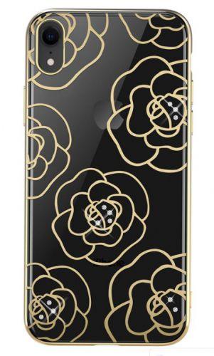Protectie Spate Devia Camellia DVCCIP61GD pentru iPhone XR (Auriu)