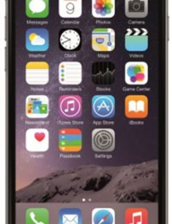 Telefon Mobil Apple iPhone 6, Procesor Apple A8 Dual Core 1.4 GHz, IPS LED-backlit widescreen Multi‑Touch 4.7inch, 1GB RAM, 32GB flash, 8MP, Wi-Fi, 4G, iOS 8 (Negru)