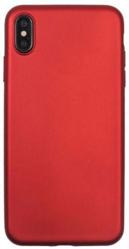 Husa Protectie Spate Just Must Silicon Lanker pentru iPhone XS Max (Negru)