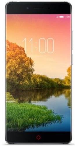Telefon Mobil Nubia Z11 Standard, Procesor Quad-Core 2.15GHz/ 1.6GHz, IPS LCD Capacitive Touchscreen 5.5inch, 4GB RAM, 64GB Flash, 16MP, Wi-Fi, 4G, Dual Sim, Android (Argintiu)
