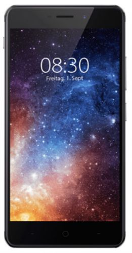 Telefon Mobil TP-Link Neffos X1, Procesor Octa-Core 1.8GHz / 1.0GHz, Capacitive Touchscreen 5inch, 2GB RAM, 16GB Flash, 13MP, Wi-Fi, 4G, Dual Sim, Android (Gri)