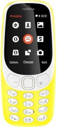 Telefon Mobil Nokia 3310 (2017), TFT 2.4inch, 16MB, Dual Sim (Galben)