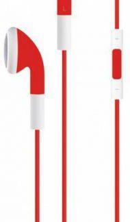 Casti cu microfon Serioux SRXA-HDPH-IE01-RED, Stereo (Rosu)