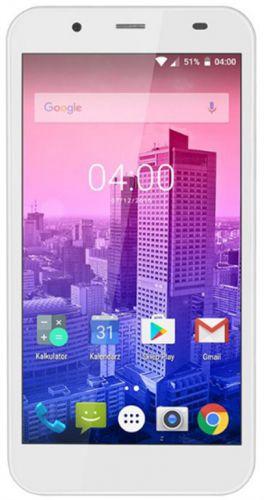 Telefon Mobil Kruger&Matz FLOW 4S, Procesor Quad-Core 1.3GHz 64biti, IPC Capacitive Touchscreen 5inch, 2GB RAM, 16GB Flash, 13MP, Wi-Fi, 4G, Dual Sim, Android (Alb)