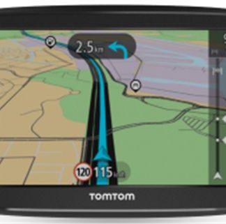 Sistem de navigatie TomTom Start 52, Capacitive Touchscreen 5inch, Acualizarea pe viata a hartilor, Harta Europei