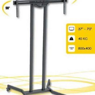 Stand TV Techly 303447, 37inch - 70inch, 40 Kg (Negru)