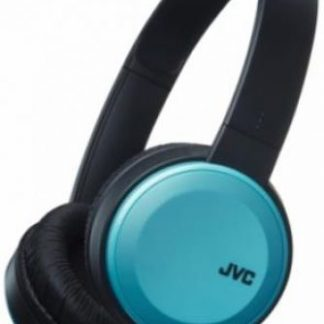 Casti Stereo JVC HAS30BTA, Bluetooth, Microfon (Negru/Albastru)