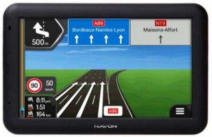 Sistem de navigatie Navon A500, TFT Capacitive touchscreen 5inch, Procesor Quad-Core 1.3 GHz, 512MB RAM, 8GB Flash, Bluetooth, Full Europa, 1 an update gratuit