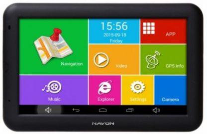 Sistem de navigatie Navon A500, TFT Capacitive touchscreen 5inch, Procesor Quad-Core 1.3 GHz, 512MB RAM, 8GB Flash, Bluetooth, Full Europa, 5 ani update gratuit