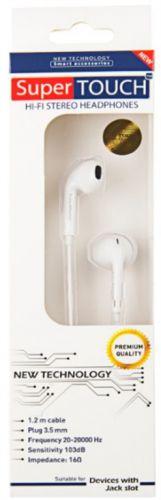 Casti cu Microfon Super Touch STH-0087 (Alb)