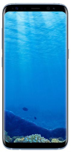 Telefon Mobil Samsung Galaxy S8 G950F, Procesor Octa-Core 2.3GHz / 1.7GHz, Super AMOLED Capacitive touchscreen 5.8inch, 4GB RAM, 64GB Flash, 12MP, 4G, Wi-Fi, Android (Coral Blue)