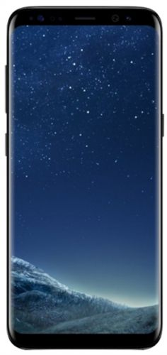 Telefon Mobil Samsung Galaxy S8 G950FD, Procesor Octa-Core 2.3GHz / 1.7GHz, Super AMOLED Capacitive touchscreen 5.8inch, 4GB RAM, 64GB Flash, 12MP, 4G, Wi-Fi, Dual Sim, Android (Midnight Black)