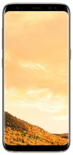 Telefon Mobil Samsung Galaxy S8 G950FD, Procesor Octa-Core 2.3GHz / 1.7GHz, Super AMOLED Capacitive touchscreen 5.8inch, 4GB RAM, 64GB Flash, 12MP, 4G, Wi-Fi, Dual Sim, Android (Maple Gold)