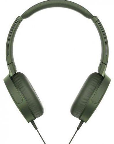 Casti Stereo Sony MDR-XB550APW, Extra Bass (Verde)