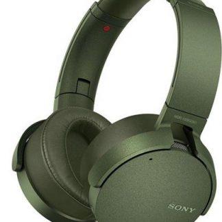 Casti Stereo Sony XB950N1G, Extra Bass (Verde)