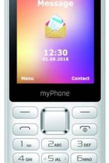 Telefon Mobil myPhone 6310, QVGA 2.4inch, 2MP, 2G, Dual Sim (Alb)