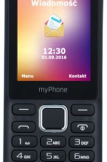 Telefon Mobil myPhone 6310, QVGA 2.4inch, 2MP, 2G, Dual Sim (Negru)