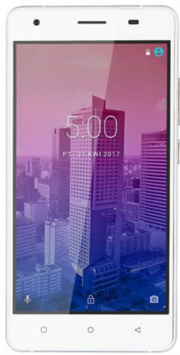 Telefon Mobil Kruger&Matz FLOW 5, Procesor Quad-Core 1.3GHz 64biti, IPS Capacitive Touchscreen 5inch, 2GB RAM, 16GB Flash, 8MP, Wi-Fi, 4G, Dual Sim, Android (Alb)