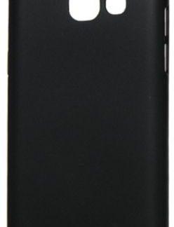 Huse Protectie Spate Lemontti Hard Rubber Slim LEMHRA32017N pentru Samsung Galaxy A3 2017 (Negru)