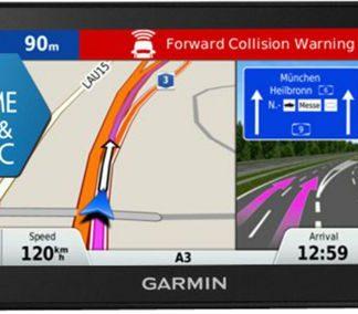 Sistem de navigatie DriveSmart 51 LMT-D, WQVGA TFT Capacitive Touchscreen 5inch, Harta Full Europa, Actualizari pe Viata a Hartilor