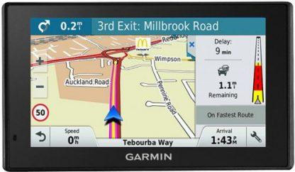 Sistem de navigatie Garmin DriveSmart 50 LMT-D EU, WQVGA TFT Capacitive Touchscreen 5inch, Harta Full Europa, Actualizari pe Viata a Hartilor