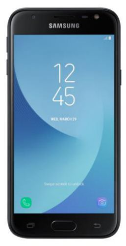 Telefon Mobil Samsung Galaxy J3 (2017), Procesor Quad-Core 1.4GHz, PLS TFT LCD 5inch, 2GB RAM, 16GB, 13MP, 4G, Wi-Fi, Dual Sim, Android (Negru)